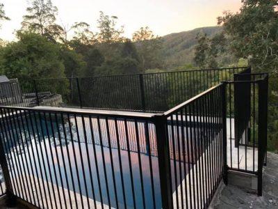 Aluminium Pool Fence - Maleny