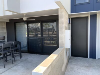 Security Door Install - Allugard Mesh - Baringa