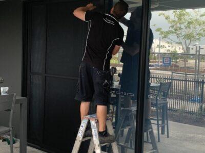 Security Door Install - Baringa