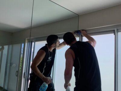 Vanity Mirror Install - Pelican Waters